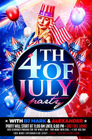 4th Of July Independence Flyer Template Xtremeflyers