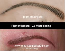 Permanent make up allergie