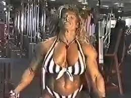 Chisty wolf fitness muscle female - YouTube