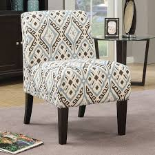 Blue Pattern Accent Chair Simple Acme Furniture Ollano Accent Chair Blue Pattern Fabric Navy Blue