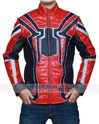 infinity war spiderman jacket