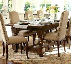 pottery barn dining table. Pottery Barn Dining Room Table Extending With Bench