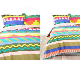 bright coloured single duvet covers beautiful multi colored duvet covers and pillow shamsunique colorful twin bright