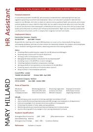Hr Assistant Sample Resume Best of Sample Resume For Hr Recruiter Position Sample Resume Recruiter