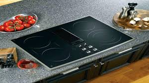 electric downdraft cooktop radiant electric downdraft in