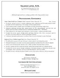 Sample New Grad Rn Resume Sample Resume For Position And New Grad ...