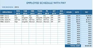 Microsoft Word Schedule Templates Free Daily Schedule Templates For Excel Smartsheet