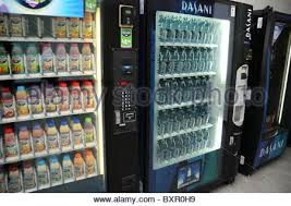 Purified Water Vending Machines Classy A Vending Machine Filled With Bottled Water Stock Photo 48