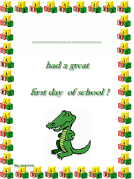 Fun Worksheets For The First Day Of School - Page 3 ...