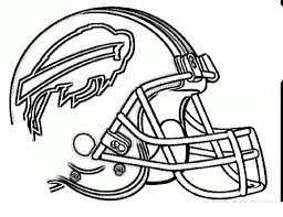 Nfl Football Helmets Coloring Pages Csb Linear Free Printable