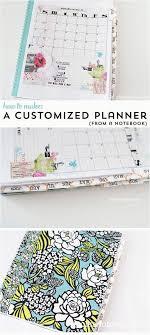 easy diy notebook ideas easy diy planner sketchbook diy