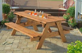 8 foot picnic table picnic table with detached benches foot plans round ft wooden pine teak 8 foot picnic table
