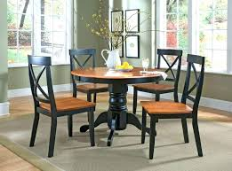 table 4 chairs set inch small round dining t small