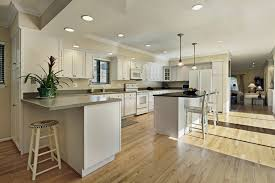 wood floors kitchens are they suitable s use kitchen hardwood flooring dark laminate cabinets good top