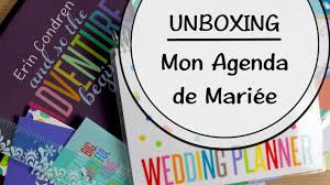 Unboxing D Ballage De Mon Agenda De Mari E Erin Condren Wedding
