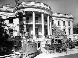 PHOTOS White House S Renovation Business Insider - 1950s house interior