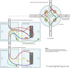 two way switching wire system old cable colours using a two way switching 3 wire system old cable colours using a junction box u k wiring diagrams wire tags and circuit diagram