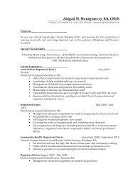 Staff Nurse Resume Format Nurses Resume Format Med Nurse Resumes Bsc Nursing Word Komphelps Pro