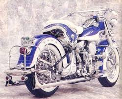 the early harley davidson motorcycle