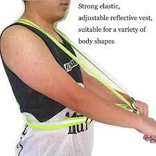 Buy Cezmkio <b>Reflective</b> Safety Vest <b>2pcs</b>, Adjustable Running ...