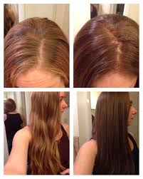 Before And After Clairol Natural Instincts Light Brown Suede