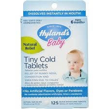 Hyland's <b>Baby Tiny Cold</b> Tablets - 125ct : Target