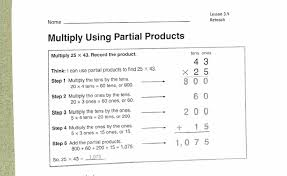 Worksheet #8181041: Partial Products Multiplication Worksheets ...
