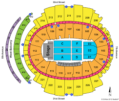 Msg Sesting Chart Madison Square Garden Virtual Seating Concert Madison Square