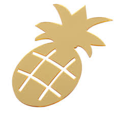 removable pineapple wall stickers living room home window