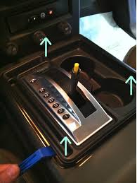 car audio tips tricks and how to s hummer h2 stereo removal your panel removal tool release the clips on the cut holder shifter panel there should be three clips holding the panel on