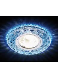 Светодиодный <b>светильник S288</b> BL хром/сапфир хрусталь/<b>MR16</b> ...