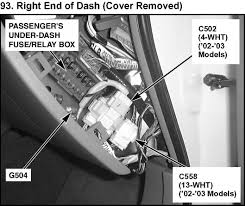 where is the fuse for the trunk? 2005 acura tl navigation fuse at 2008 Acura Tl Fuse Box