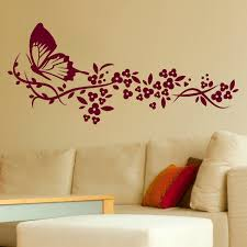 flower stencils for wall painting unique wall art stickers flowers