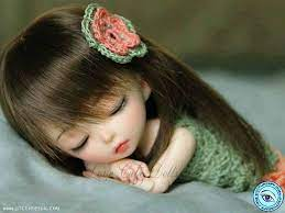 Cute Doll Sleeping Picture Wallpaper ...