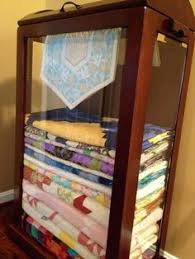All Quilt Cabinets | option for both storage and display with an ...