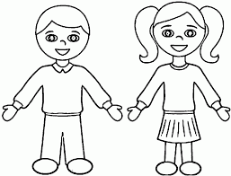 Small Picture Boy And Girl Coloring Pages fablesfromthefriendscom