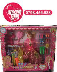 Bộ sưu tập thời trang búp bê Barbie & những đôi giày xinh xắn [ĐƯỢC KIỂM  HÀNG] 32488849 - 32488849 | Búp bê
