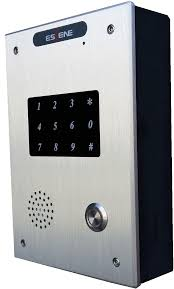 IS720-PT IP VOICE & ACCESS DOOR INTERCOM Full keypad and 1 call ...