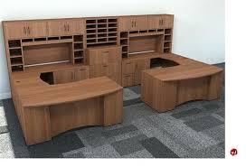 office desk workstation.  Workstation 2 Person Workstation Desk U Shape Office Storage L  On Office Desk Workstation
