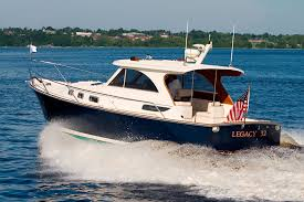 What type of yachts does legacy yachts build? Legacy 32 Legacy Yachts