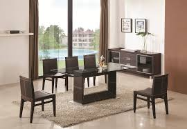 Glass Dining Room Furniture Unique Inspiration Ideas