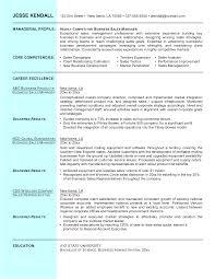 Resume Business Manager Sample Sidemcicek Com