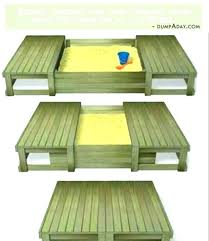 sandbox design sandbox with bench wooden sandbox with cover endearing sandbox with bench and best sandbox cover ideas sandbox design plans