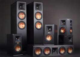 klipsch used speakers. the legendary speaker company used ces to debut its new flagship line, reference premiere. it also demoed an atmos-enabled system and a klipsch speakers h
