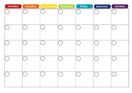 week time schedule template blank weekly calendar template printable calendar template