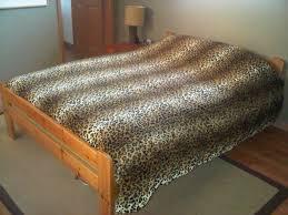 leopard print duvet cover