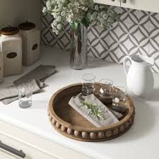 Walmart and target also carry tv tray tables at i would hope not! Three Posts Crofton Round Wood Coffee Table Tray Reviews Wayfair