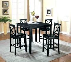 black pub table set pub dining sets awesome black pub table set dining room black black pub table