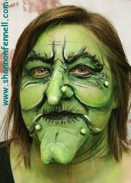 special effects make up green witch