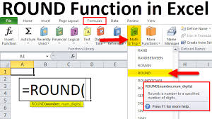 Excel Round Formulas Round In Excel Formula Examples How To Use Round Function